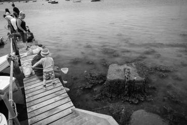 Crabbing at Bosham