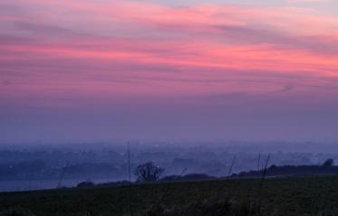 xx Highdown Sunset_