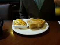 Eggs Benedict and some Toast