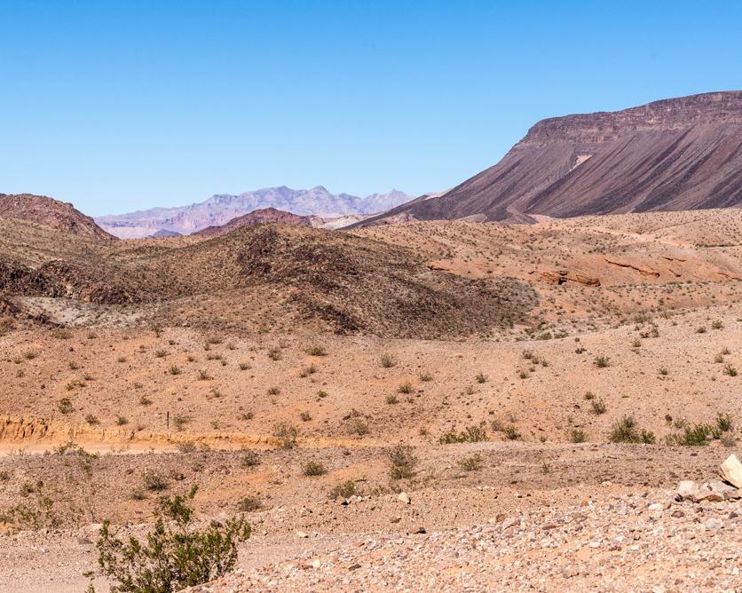 1001 Nevada Desert near Hoover, Nevada