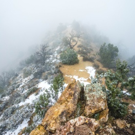 1040 Mist at the Grand Canyon