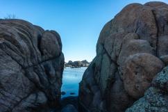 1048 Lake Watson between rocks Prescott, Arizona