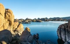 1049 Lake Watson between rocks 2 Prescott