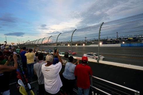 Coke 400 at Daytona....What a great race.