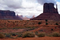 The Setting for 'Stagecoach' Monument Valley Wow!