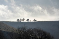 The hill above Fulking looking towards the Dyke