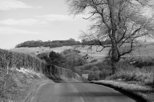 The Road to Somewhere, well actually its between Fulking and Poynings at the back of the South Downs.