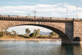 London Bridge at Lake Havasu City, Arizona