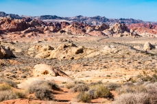 A landscape from another world at the Valley of Fire, Nevada