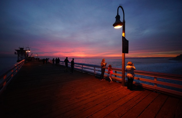 1500 San Clemente Pier Sunset 080318_DSC08305