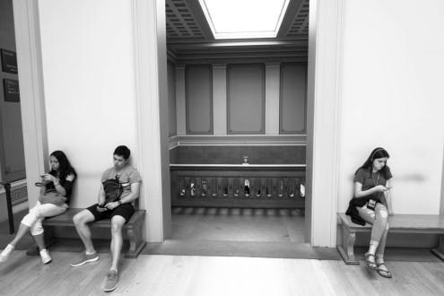 Tired Legs - British Museum, London