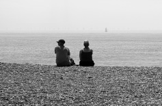 Out to Sea - Worthing, East Sussex.