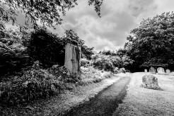 Poynings - Door in the cemetery, East Sussex