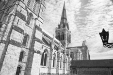 1800 Chichester Cathedral BW