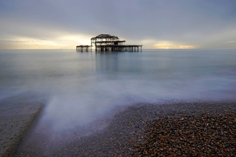 The West Pier Remains
