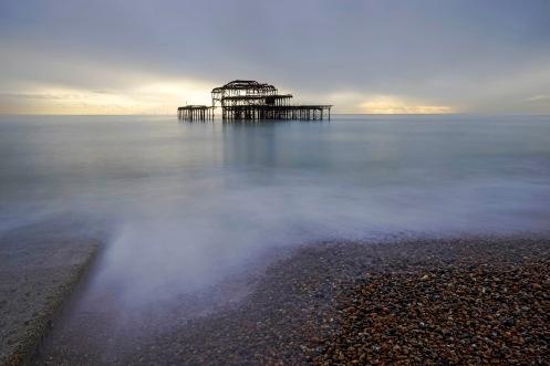 The West Pier Remains