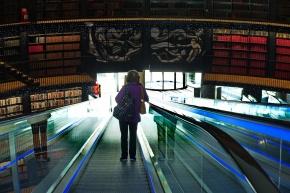 1800 Escalators at the Library 191018_DSF6330