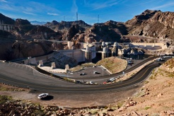 Above the Hoover Dam