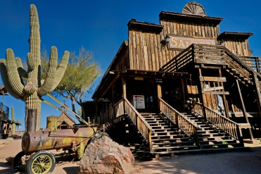 The Goldfield Saloon - a rough, ready and just a bit seedy establishment.