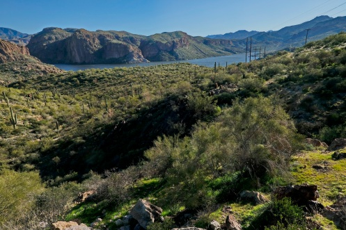 Canyon Lake on the Apache Trail