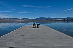 Lake Henshaw boat jetty
