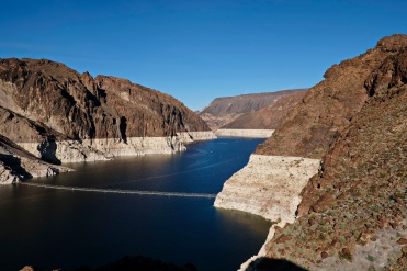 Lake Mead from the dam....
