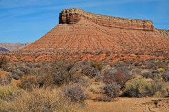 Indian country landscape