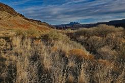 Zion landscape, just before Springdale after Hurricane