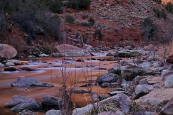 Another long exposure of the creek at the canyon base