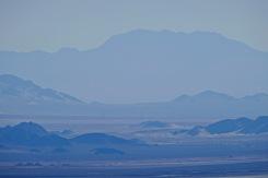 Mohave salt lake landscape