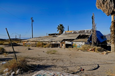 Deserted in the Mohave Desert, Southern California