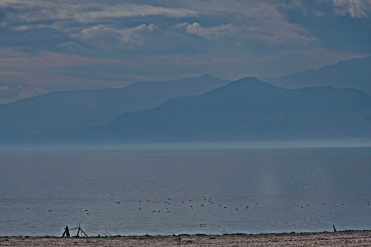 The Salton Sea, Southern California. Tranquil, Hot and very beautiful in it's own way.