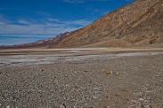 Salt lake in Death Valley