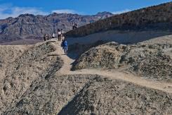 On and around Zabriskie Point, Death Valley National Park