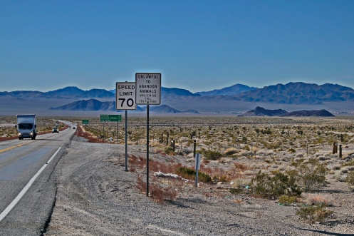 The back road to Vegas through Pahrump